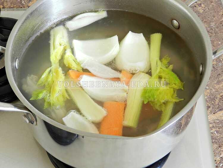 sup s kurinymi shejkami i vermishelyu (2)
