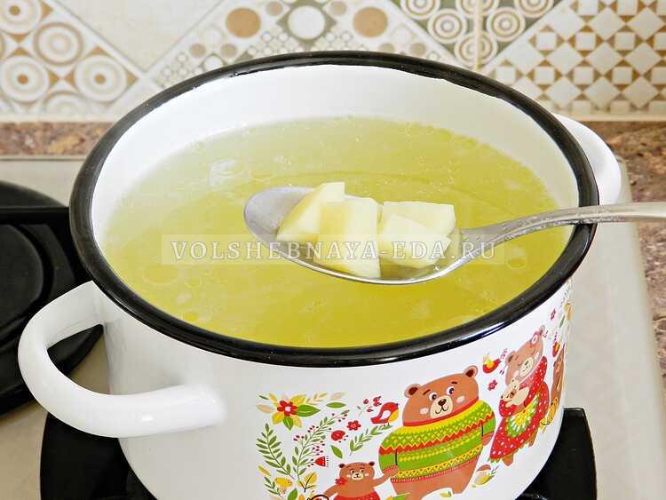 sup s kurinymi shejkami i vermishelyu (8)