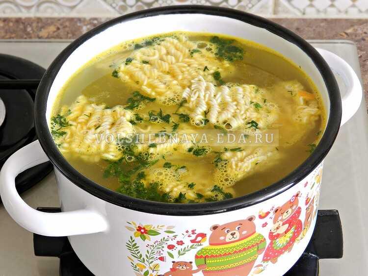 sup s kurinymi shejkami i vermishelyu (9)