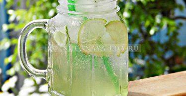 Лимонад с чабрецом