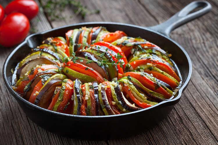 Лучшие летние блюда из баклажанов