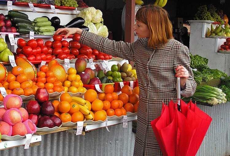 Качество фруктов и овощей