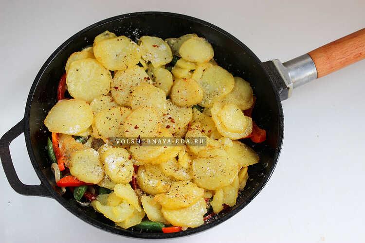 frittata s kartofelem 5