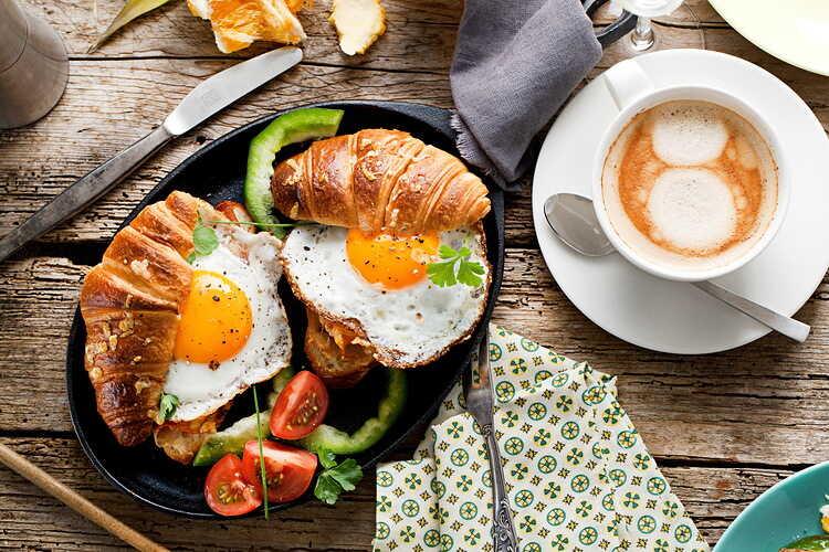 Идеи оформления завтрака