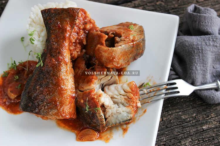 Рыба под маринадом