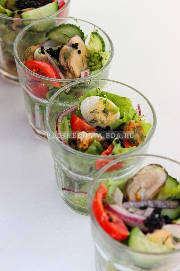 salat s konservirovannymi midiyami 10