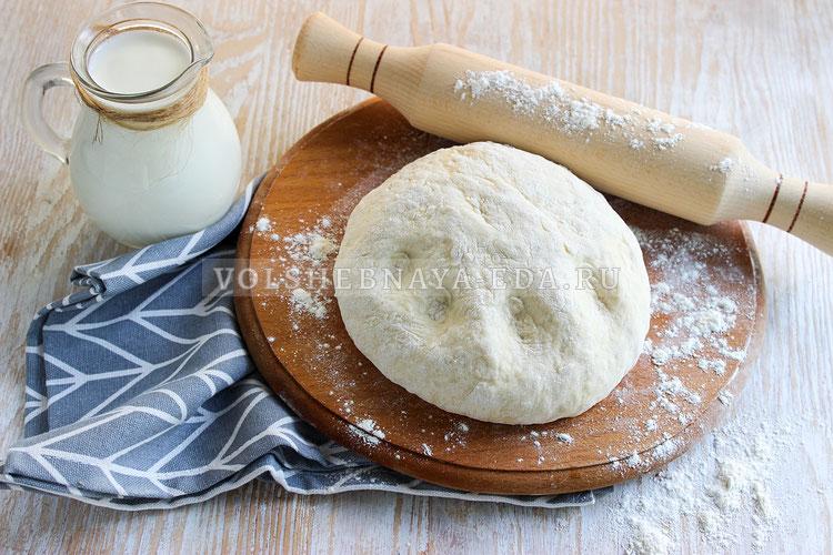 Тесто на кефире для вареников