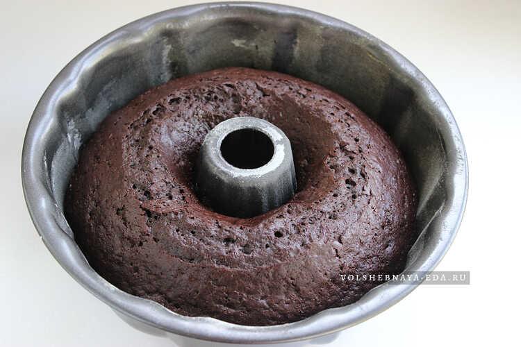 vlazhnyj shokoladnyj keks na kefire 7