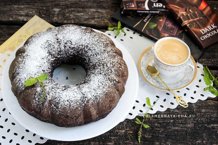 vlazhnyj shokoladnyj keks na kefire 8