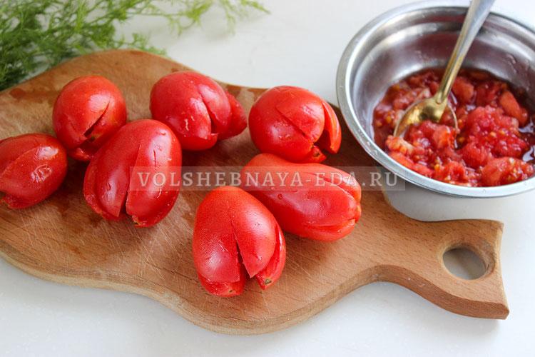 buket tyulpanov iz pomidorov 2