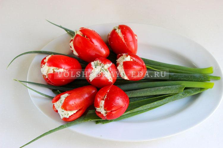 buket tyulpanov iz pomidorov 5