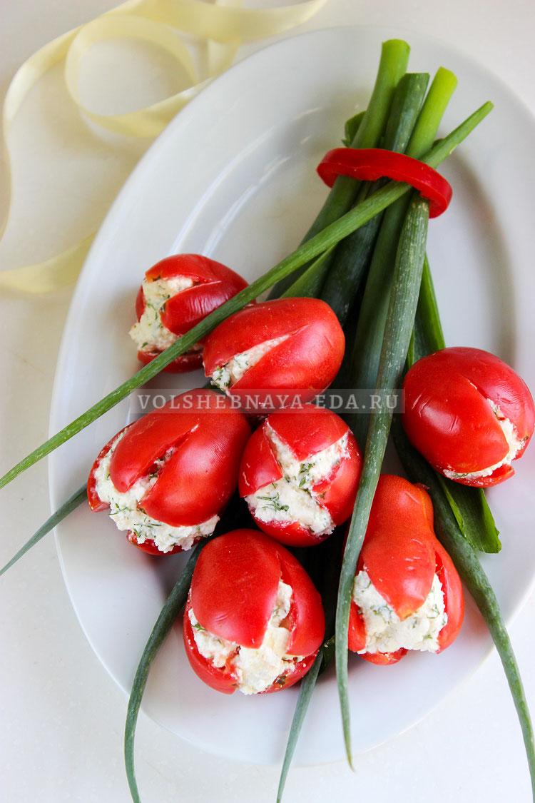buket tyulpanov iz pomidorov 9