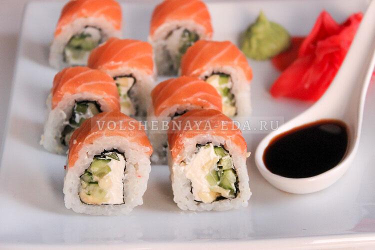 Соленая рыба для суши