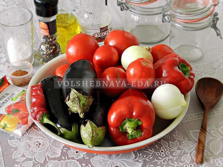 lecho s baklazhanami (1)