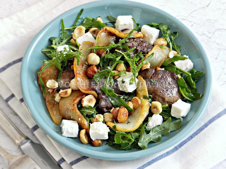 salat s grushej i pechenyu 9