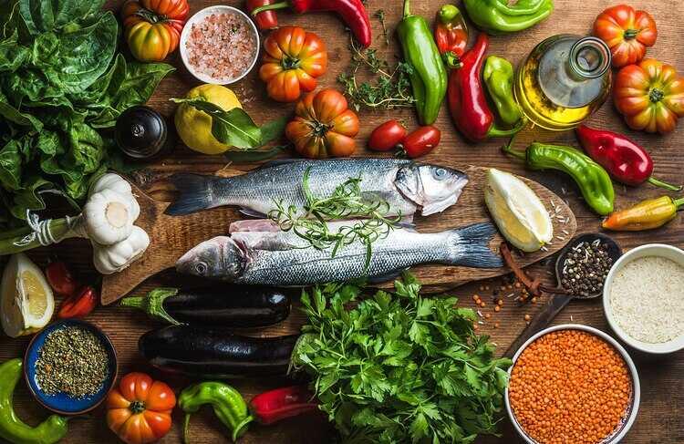 Средимноморская диета для продления жизни