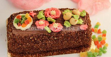 Бисквитный торт «Сказка» по ГОСТу