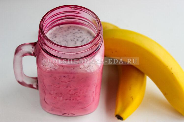 bananovyj smuzi s semenami chia 6