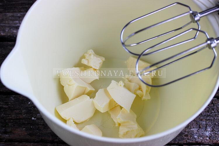 krem chiz dlya torta recept s maslom i saxarnoj pudroj 1