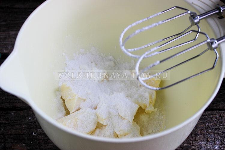 krem chiz dlya torta recept s maslom i saxarnoj pudroj 2