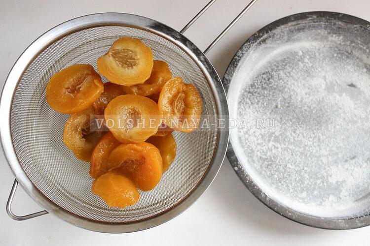 pirog s persikami 1