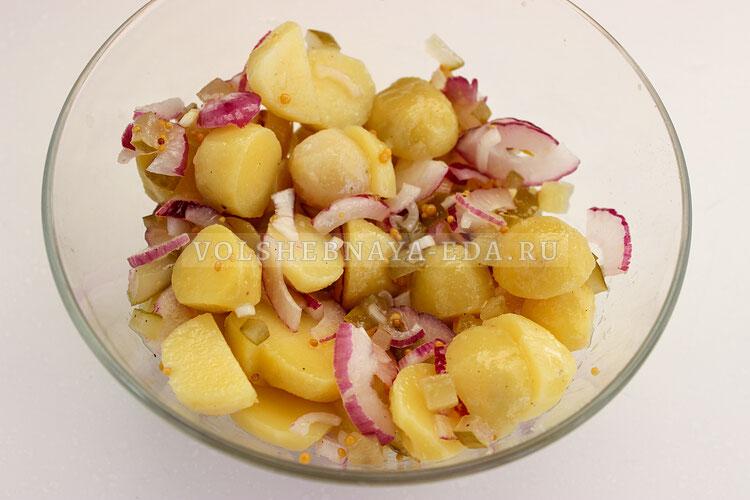 salat s kopchenoj ryboj 4