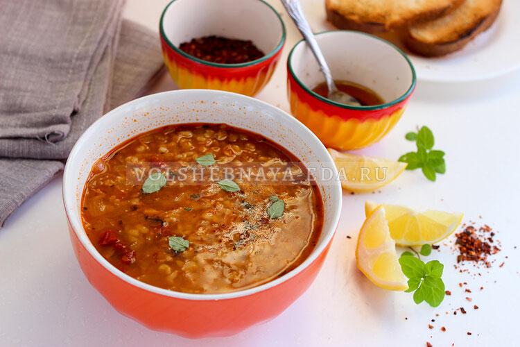 Турецкий суп невесты