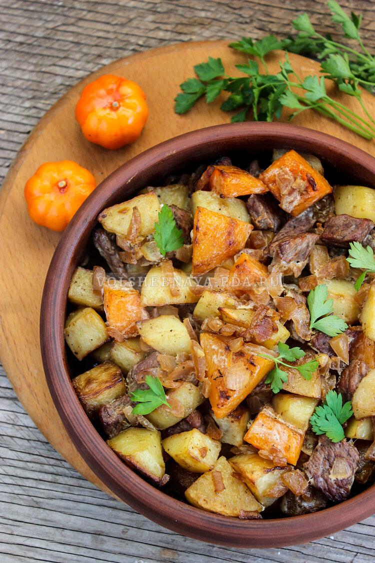 tykva s myasom i kartofelem 10