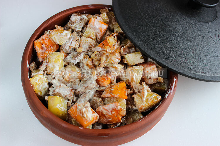 tykva s myasom i kartofelem 6