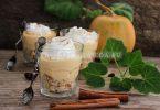 Тыквенный чизкейк в стакане — без выпечки
