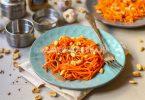 Морковь с арахисом