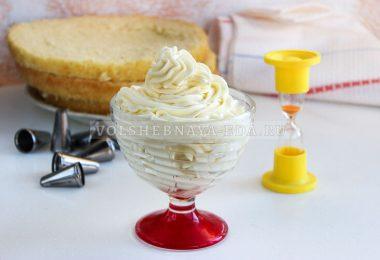 Молочно-масляный крем за 5 минут