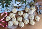 Апельсиновое печенье «Снежки»