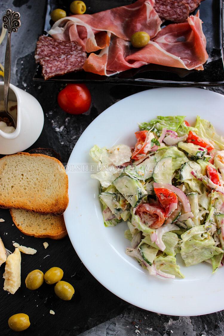 smetan salat 10