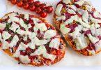 Быстрая пицца на толстом лаваше