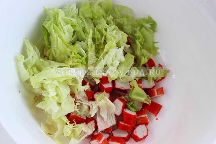 salat iz krabovyh palochek nezhnost 2