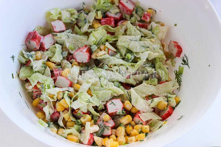 salat iz krabovyh palochek nezhnost 5