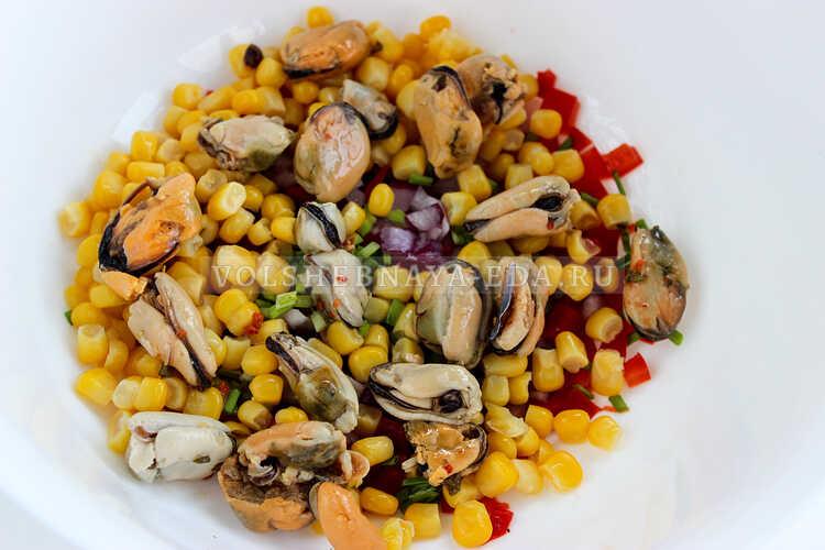 salat s midiyami i kukuruzoj 4