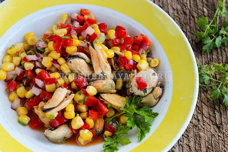 salat s midiyami i kukuruzoj 6