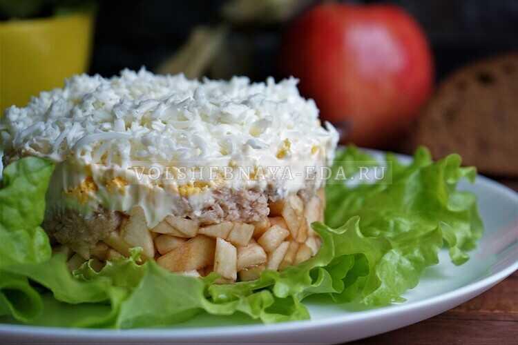 salat s tuntsom i yablokom 11