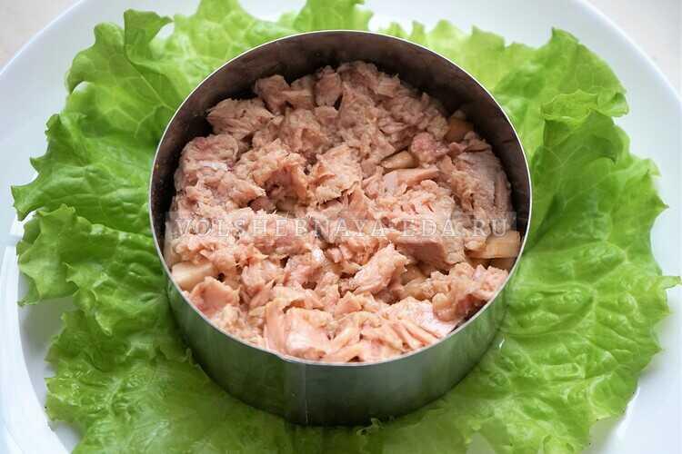 salat s tuntsom i yablokom 3