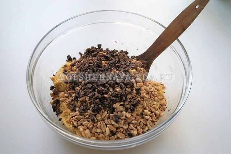 shokoladnoe biskotti s arahisom 10
