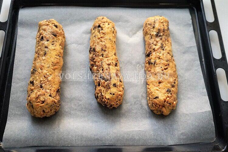 shokoladnoe biskotti s arahisom 12