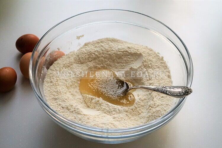 shokoladnoe biskotti s arahisom 5