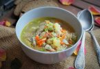Суп из замороженной скумбрии