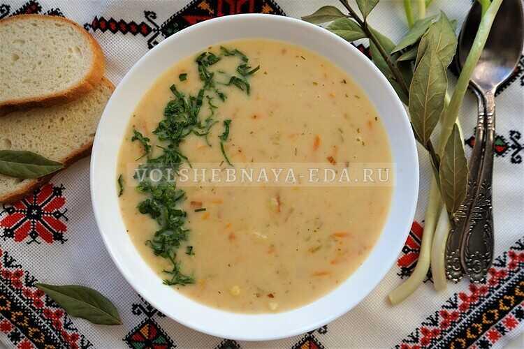 Жареный суп