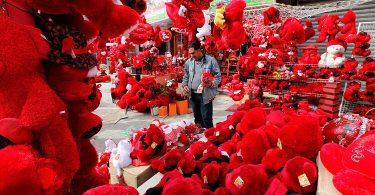 Как отмечают день св. валентина в разных странах