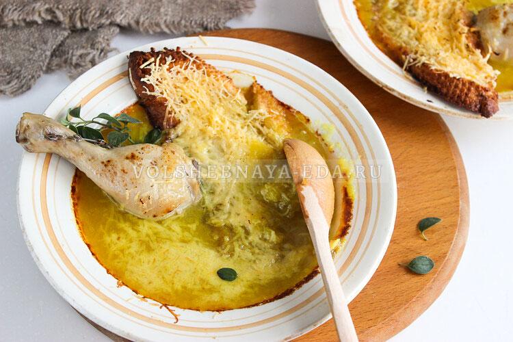 lukovy sup s kuricej 8