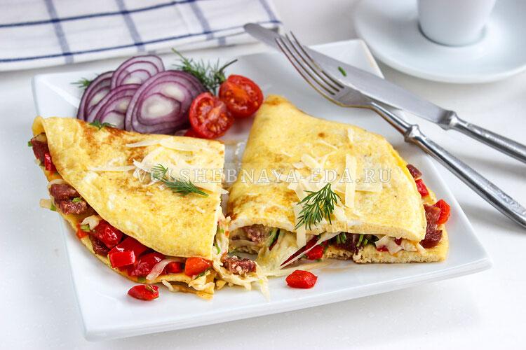 omlet s nachinkoj 9