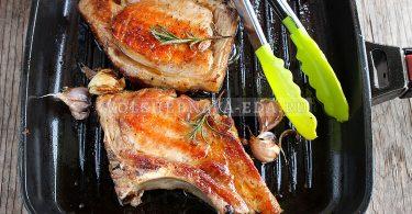 stejk iz sСтейк из свинины на сковородеvininy na skovorode 10